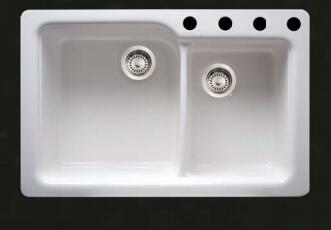 Whitehaus WH523WH Kitchen Sink