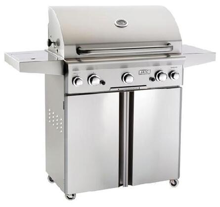 American Outdoor Grill 30xC-00SP Stainless Steel Portable x Grill with 540 sq. in. Cooking Area and Electronic Push Button Ignition