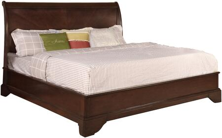 Myco Furniture CT1401K Century Series  King Size Sleigh Bed