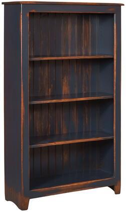 Chelsea Home Furniture 465114NDA Cornelia Series Wood 3-4 Shelves Bookcase