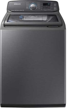 "Samsung Appliance WA52M7750AV 27"" Black Stainless Steel Series 5.2 cu. ft. Top Load Washer, in Black Stainless Steel"