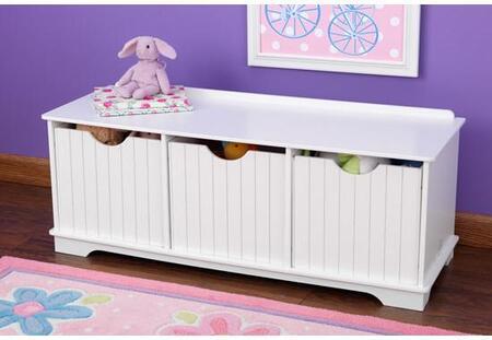 KidKraft 14564 Childrens Armless Wood Not Upholstered Bench