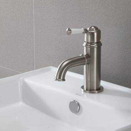 Kraus KEF15601 Exquisite Series Solinder Bathroom Basin Lever Faucet with Solid Brass Construction and Kerox Ceramic Cartridge