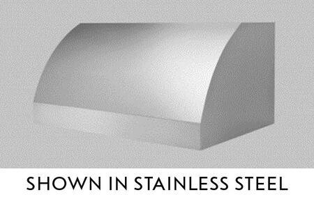 """BlueStar Santa Fe BSSNFE602418 60"""" Wall Mount Range Hood with 3 Speed Fan, Stainless Steel Baffle Filters and Halogen Lamps, in"""