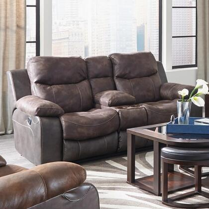 Catnapper 64359115289130089 Henderson Series Fabric Reclining with Metal Frame Loveseat