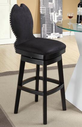 Armen Living LC4045BABL30 Residential Fabric Upholstered Bar Stool