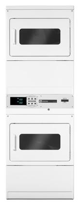 "Maytag Commercial MLG24PRAWW 27"" 7.4 cu. ft. Gas Dryer, in White"