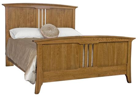 Durham 100144C Westwood Series  King Size Panel Bed
