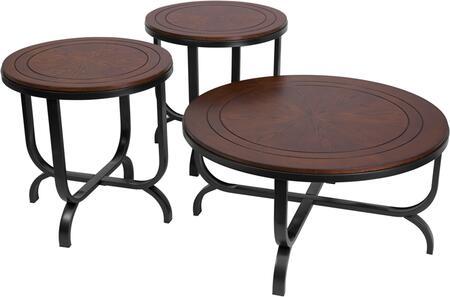 Ashley Ferlin 3 Piece Occasional Table Set