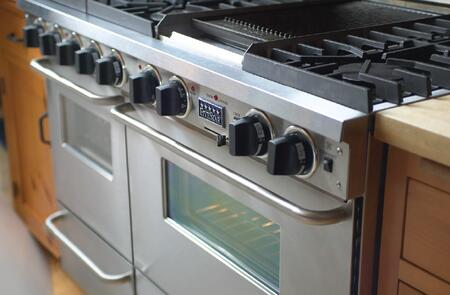 Fivestar Tpn5107bsw 48 Inch Stainless Steel With Brass Gas