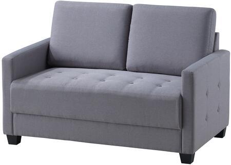 Glory Furniture G777L Fabric Stationary Loveseat