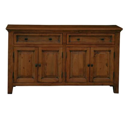 Home Trends & Design FFLSB64P  Wood 2 Drawers Cabinet