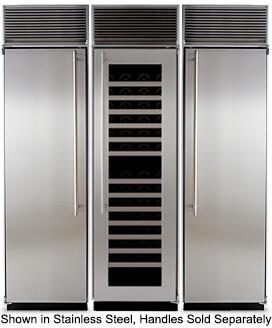 Marvel M72CFWRWP Side-By-Side Refrigerators