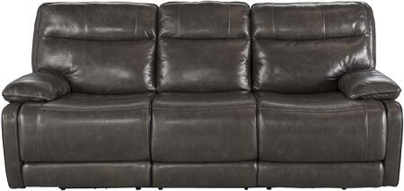 Milo Italia MI417032META Vanessa Series  Leather Sofa