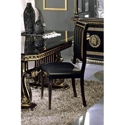 VIG Furniture VGACROSELLASC2 Modrest Rossella Series Modern Fabric Wood Frame Dining Room Chair