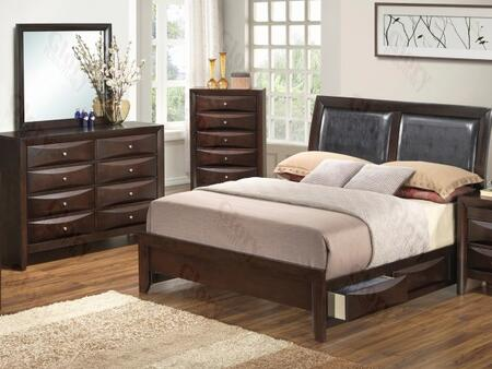 Glory Furniture G1525DDFSB2DM G1525 Full Bedroom Sets