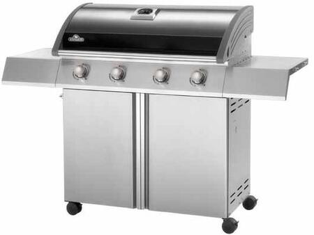 "Napoleon SE495PK 55"" Freestanding Grill, in Stainless Steel"