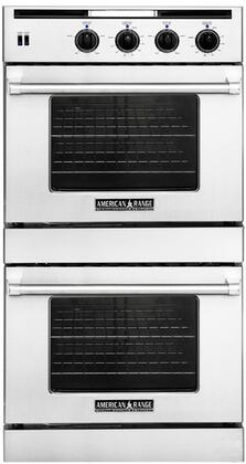 American Range AROSSG230LPW Double Wall Oven, in White