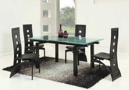 Chintaly MELODYDTSET Melody Dining Room Sets