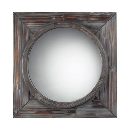 Sterling 116002 Bronwood Series Square Both Wall Mirror