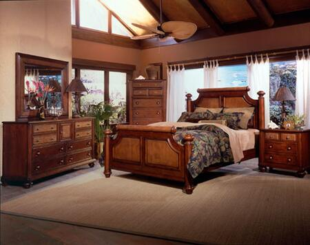 Harden 101200k5p Island House 5 Piece Bedroom Set With