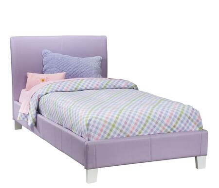 Fantasia Twin Purple Bed