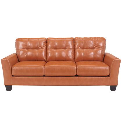 Flash Furniture FBC3999SOXXXGG Benchcraft Paulie Sofa in Orange DuraBlend