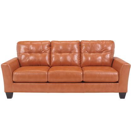 Flash Furniture FBC3999SOXXXGG Benchcraft Paulie Sofa in Orange DuraBlend