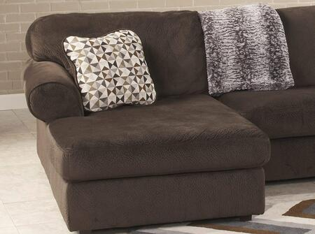Milo Italia Kianna 3980X-16-34-17 3PC Fabric Sectional Sofa with Left Arm Facing Chaise, Armless Loveseat and Right Arm Facing Chaise in