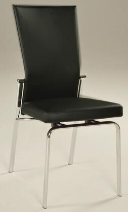 Chintaly MOLLYSCBLK2SET Molly Accent Chairs