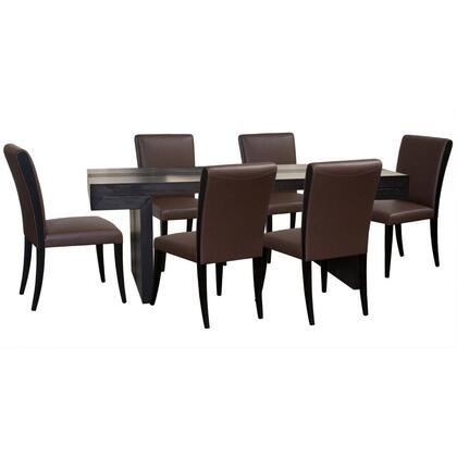 Diamond Sofa D0730990M7PC Urban Dining Room Sets