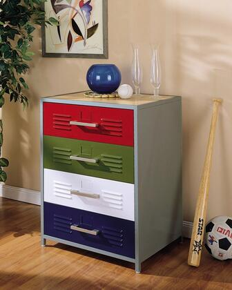 Powell 517008 Teen Trends Series  Dresser with 4 Drawers |Appliances Connection