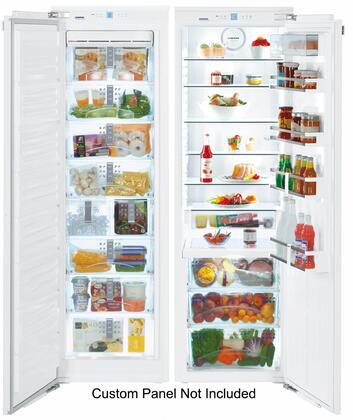 Liebherr SBS19H1 Side-By-Side Refrigerators