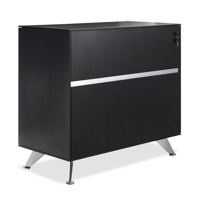 "Unique Furniture 340ESP 32"" Wood Modern File Cabinet"
