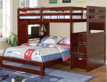 Donco 1204CPP  Full Size Bunk Bed