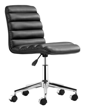 Zuo 20571 Admire Collection Modern Adjustable Office Chair in