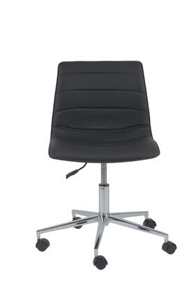 "Euro Style 17217BLK 25"" Contemporary Office Chair"