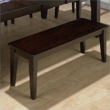 Jofran 97220KD Prairie Series Accent Armless Wood Not Upholstered Bench
