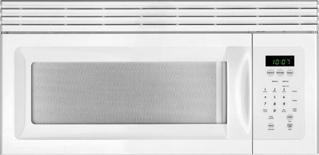 Frigidaire MWV150KW 1.5 cu. ft. Over the Range Microwave Oven with 300 CFM, 900 Cooking Watts, 10 Power Levels in White