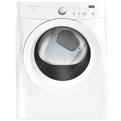 Frigidaire FAQG7011LW Affinity Series Gas Dryer, in White
