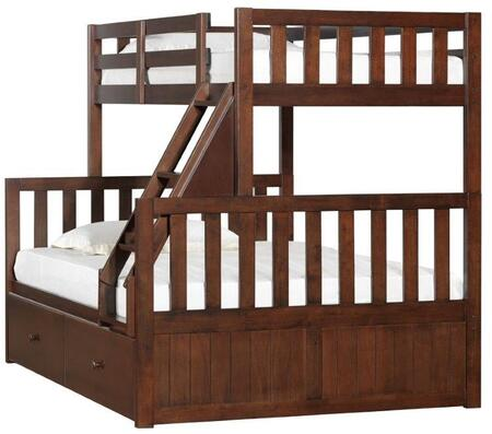Simmons Upholstery 300038SC Mission Hills Twin Over Full Bed