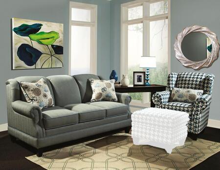 Chelsea Home Furniture 2723653512SET Francine Living Room Se