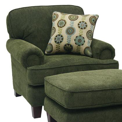 Jackson Furniture 317801 Chenille Fabric Armchair with Wood/Steel Frame