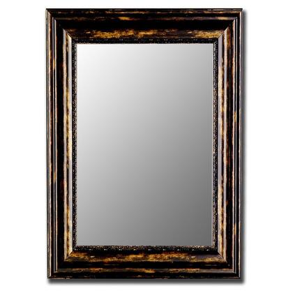 Hitchcock Butterfield 28100x Cameo Antique Copper Black Framed Wall Mirror