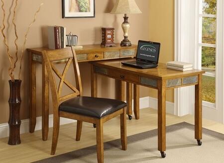 Legends Furniture ZJO6030 Oak Creek Series  Desk