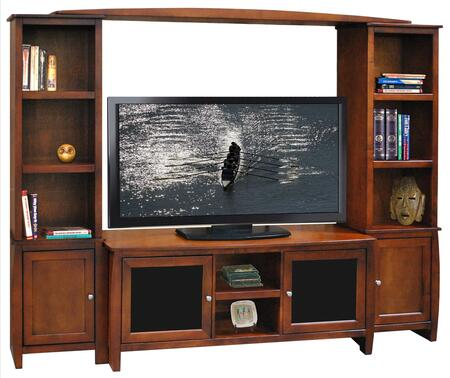 Legends Furniture CV1223SPRPACKAGE Curve TV Stands