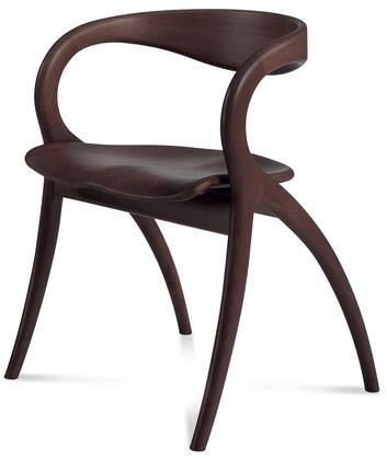 Domitalia STARWE04 Star Series  Wood Frame Dining Room Chair