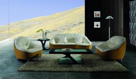 VIG Furniture VGBNSBL9007SET Modern Leather Living Room Set