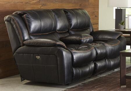 Catnapper 45199115208125208122309 Beckett Series Faux Leather Reclining with Metal Frame Loveseat