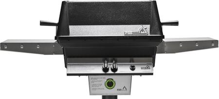 PGS T40 T- Series Aluminum Commercial Grill Head with Built In 1 Hour Gas Timer, 40, 000 BTU, Stainless Steel Cooking Grids, Heavy Duty Cast Aluminum Housing